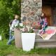 Напольное кашпо для цветов в Иркутске