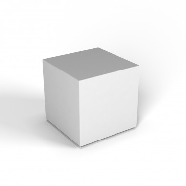 """Декоративная фигура """"Flox"""" Куб белый"""