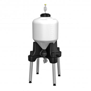 Емкость ЦКТ 35л с подставкой (комплектация премиум)